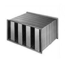 Atenuator de zgomot rectangular